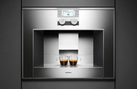 built in espresso machine