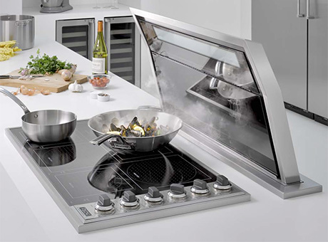 Downdraft Range Hood Viking Downdraft Exhaust System Kitchen Design Guide