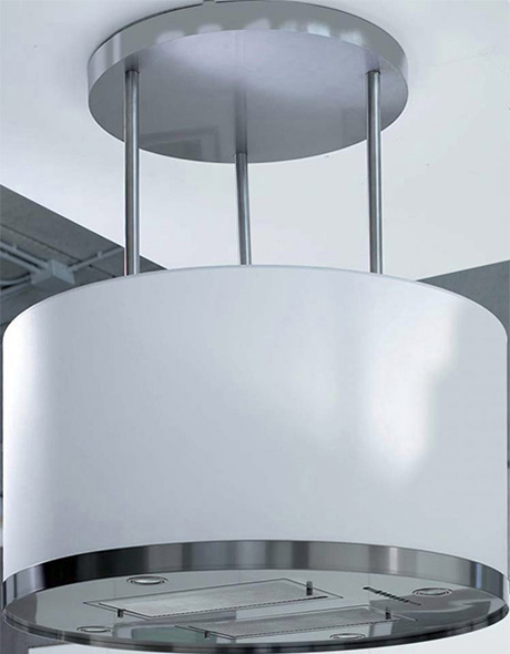 Island Mount Range Hood From Kuppersbusch Platinum White Edition Kitchen Design Guide