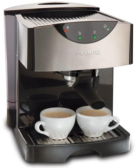 Mr Coffee Maker Clean Button : Mr. Coffee espresso maker pump espresso cappuccino maker Kitchen Design Guide